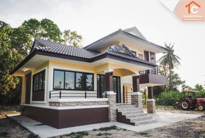 An Inspiring 1 5 Storey House With Three Bedrooms Ulric Home Bungalow House Design Modern Bungalow House Modern Bungalow House Plans