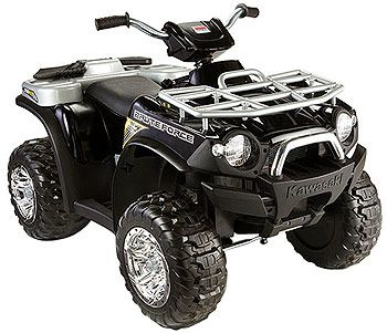 Power Wheels Kawasaki Brute Force Utility ATV 12-Volt Quad Powered Ride On