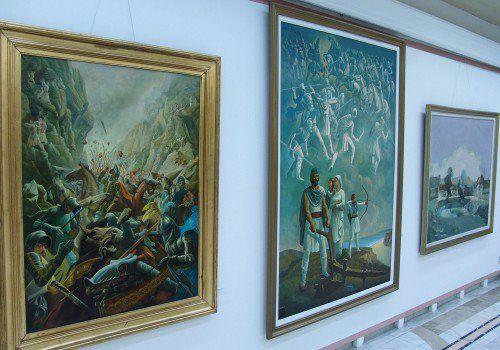 """Compozitii istorice """"Batalia de la Posada"""" , """"Dacii"""" - autor Albin Stanescu"""
