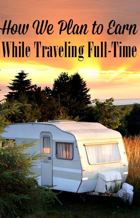 Ever wondered how people who are traveling full-time earn money? Let me show you how we plan to earn an income while full-time RV living!