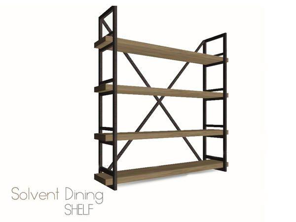 peskimus : Solvent Dining Shelves