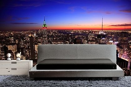 48 best for the home images on pinterest abstract canvas for New york wallpaper rolls