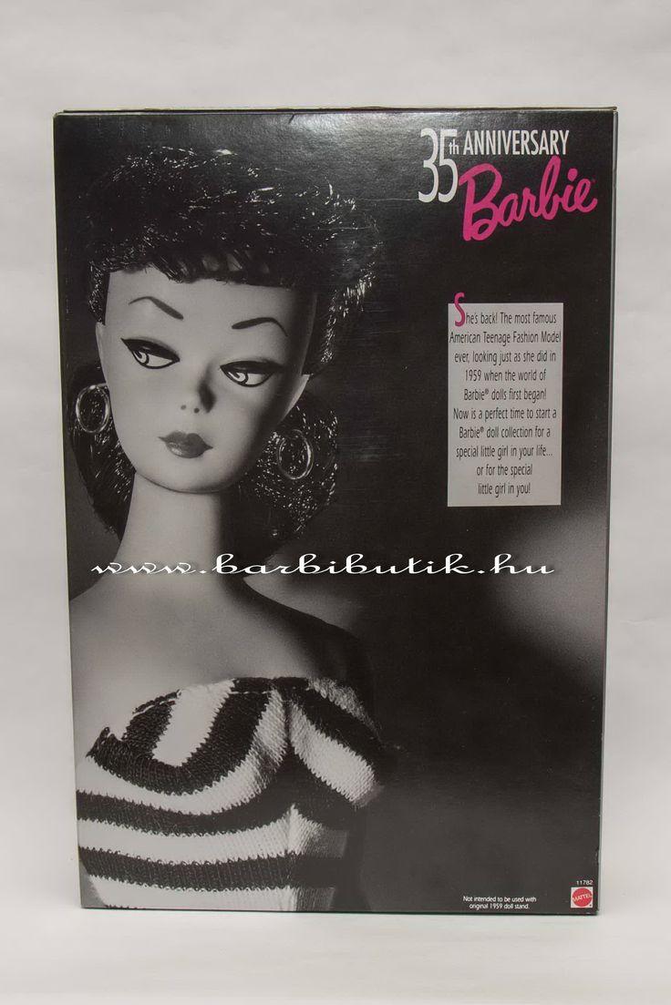 1959-es első Barbie reprodukciója! :) / The first Barbie reproduction.