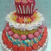 Tartas de Chuches - Moremí Eventos - 4pisos - Candy Bar y Cumpleaños