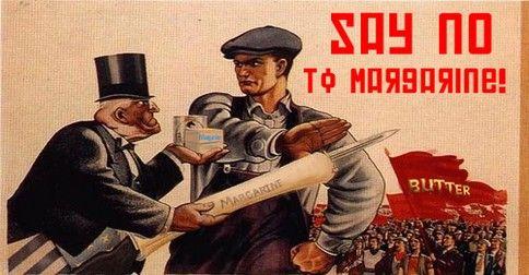 Vedia ľudia konzumujúci margarín ako sa vyrába? Je to hrôza