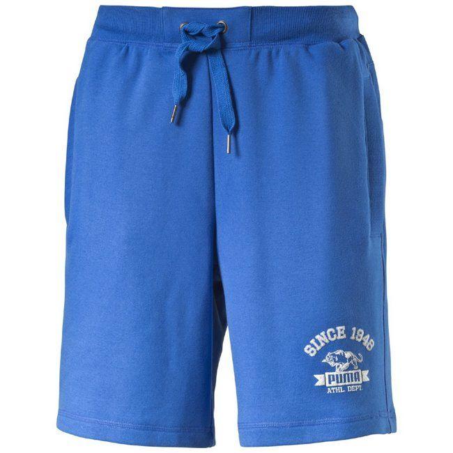 #PUMA #STYLE ATHL Sweat #Bermuda TR - pánské bermudy  E-shop: www.crish.cz