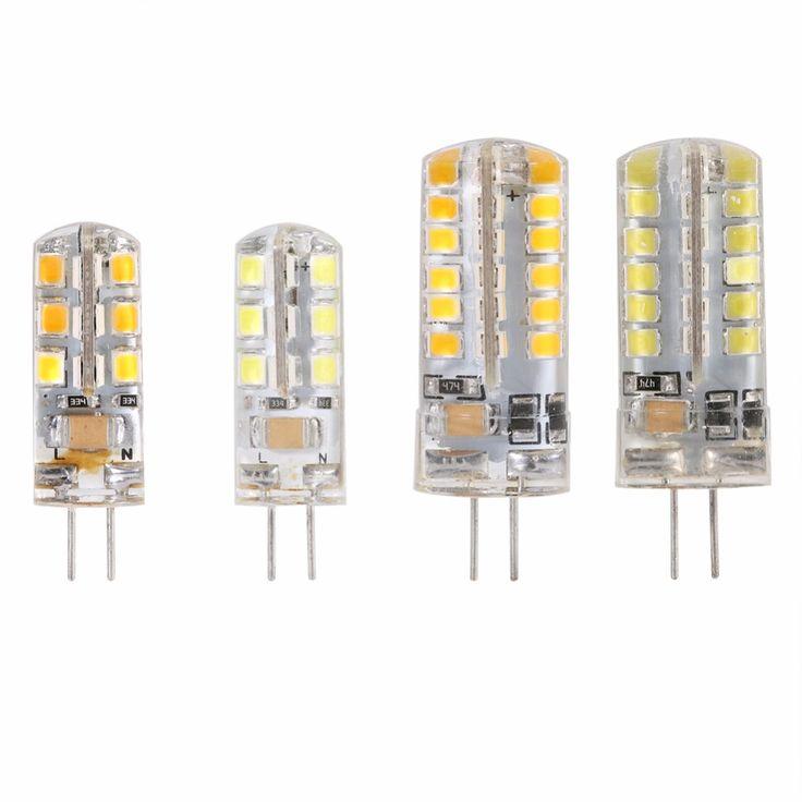 10pcs G4 LED Lamp Beads 24/48 LEDs 3/4W 2835 Warm Cool White High Lighting Home Light Lamp Bulb 220V
