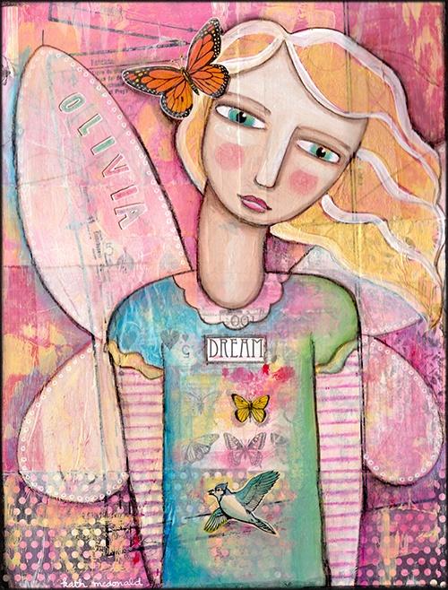 A lovely fairy for my lovely Olivia x