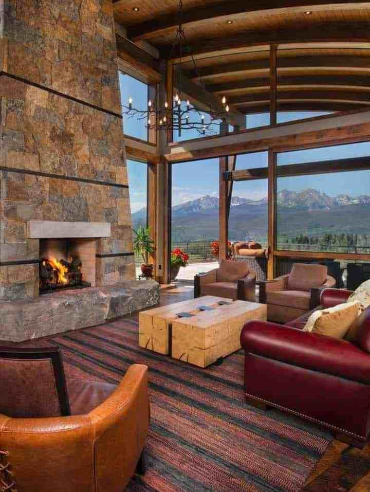 Craftsman Style Home Features Dramatic Backdrop Of The Rocky