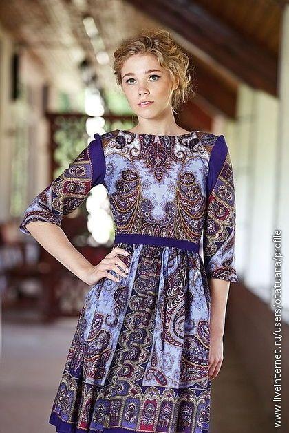 одежда из павловопосадских платков - Поиск в Google