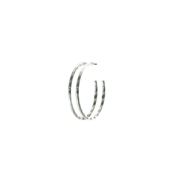 Lori Silver Plated Earrings