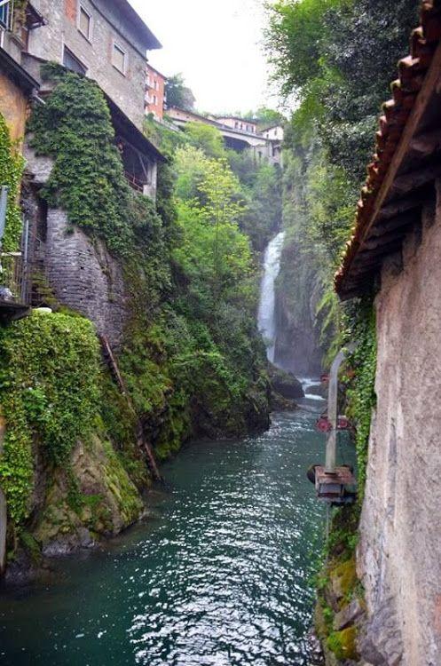 Nesso Lake Como  Italy....