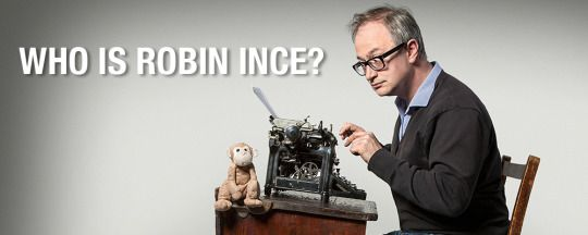 Comedian Robin Ince, an Underwood typewriter and something about an infinite money theorem.