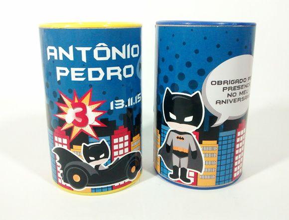 Cofrinho de papelão - Batman