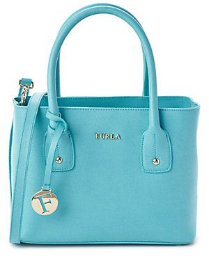 Furla Josi Small Leather Tote.   Love the pastels and styles of Furla bags!
