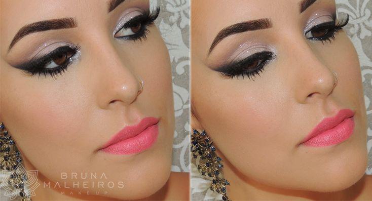 Bruna Malheiros Makeup » Maquiagem Noiva Ousada ♥
