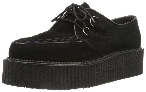 Demonia by Pleaser Mens Creeper 402S LaceUpBlack Suede12 M US >>> You can get more details by clicking on the image.