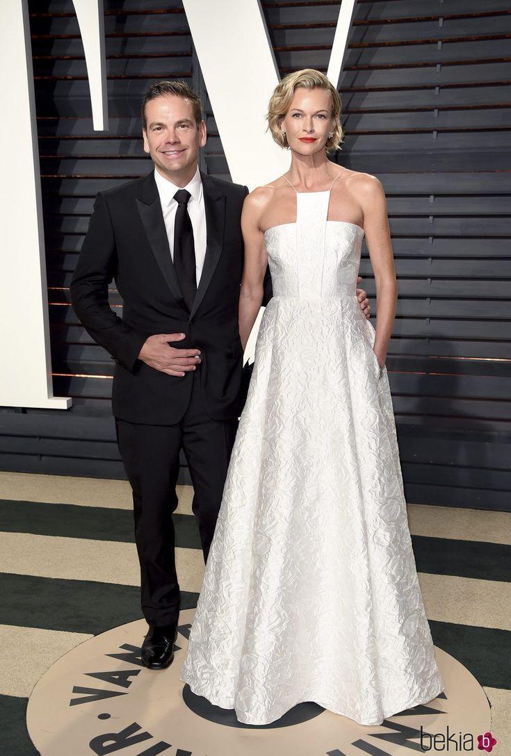 Sarah Murdoch Oscars Party 2017