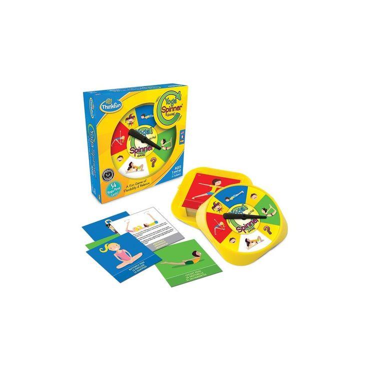 Yoga Spinner Game, jógázós mozgásfejlesztő játék 5 éves kortól - ThinkFun
