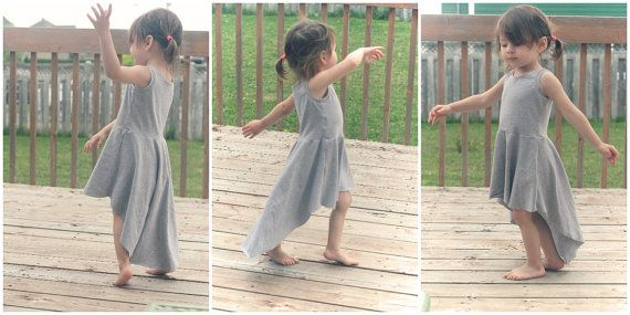 High low dress  Toddler Maxi Dress  Available in by ScarlettBabyCA
