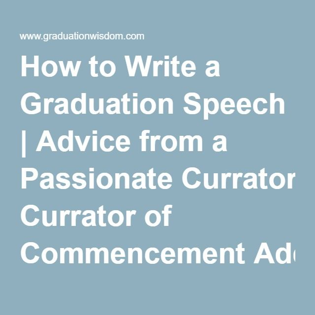 25+ Best Graduation Speech Ideas On Pinterest | Senior Graduation