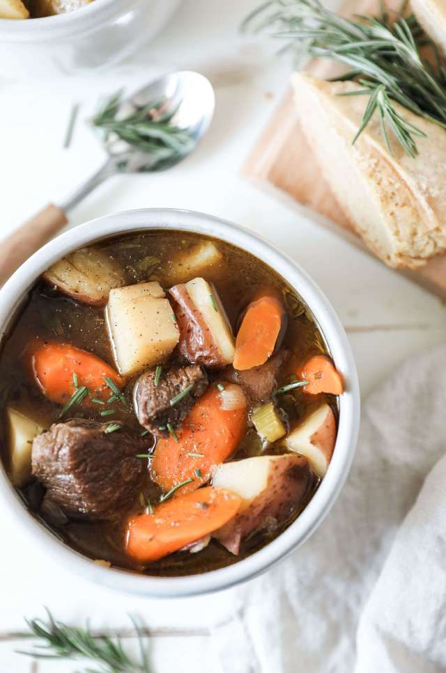 Instant Pot Balsamic Beef Stew - Jessi's Kitchen