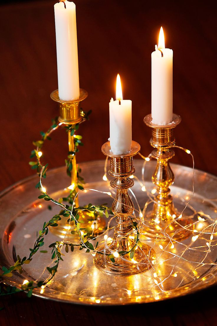 """Ljusslinga, """"Micro"""", med LED-belysning för inomhusbruk. Slingos passar även i kransar, i glasburk eller som dekoration på bordet, 365 kr, Watt & Veke."""