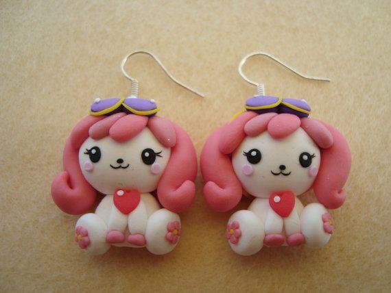 Poochie Kawaii Polymer Clay Earrings