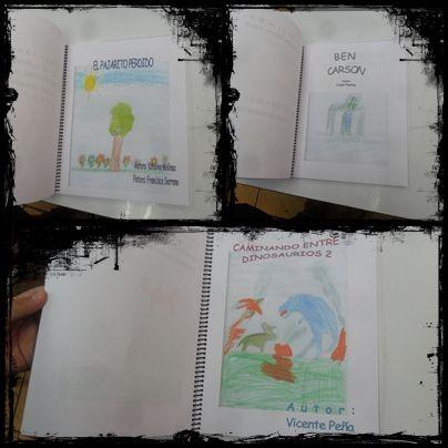 Libro de cuentos de los propios estudiantes, ayuda a la motivación para las actividades.