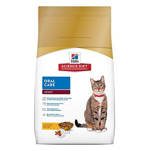Just as for people, good dental care is important to ensure your cat's overall health. Hill's Science Diet Adult Oral Care Chicken Recipe dry cat food is specifically formulated to provide daily dental protection for your cat. With a clinically proven interlocking fiber technology, the k... more details available at https://perfect-gifts.bestselleroutlets.com/gifts-for-pets/for-cats/product-review-for-hills-science-diet-adult-oral-care-chicken-recipe-dry-cat-food-7-lb-