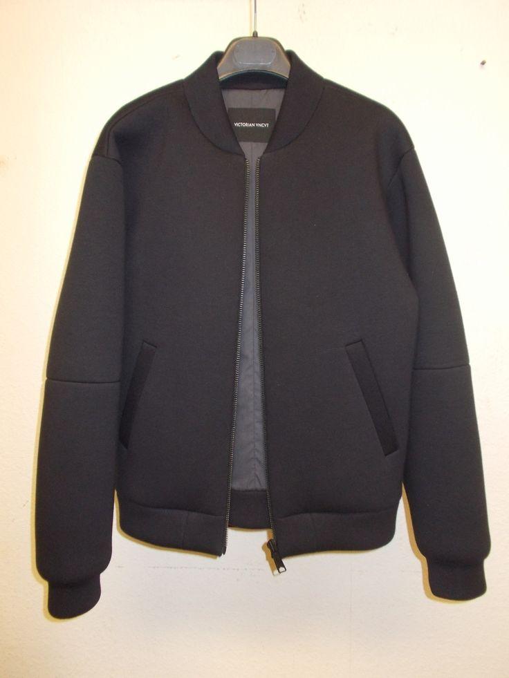 Victorian uncut neoprene bomber jacket