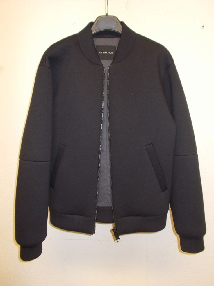 Victorian uncut neoprene bomber jacket raf simons helmut lang ktz | eBay