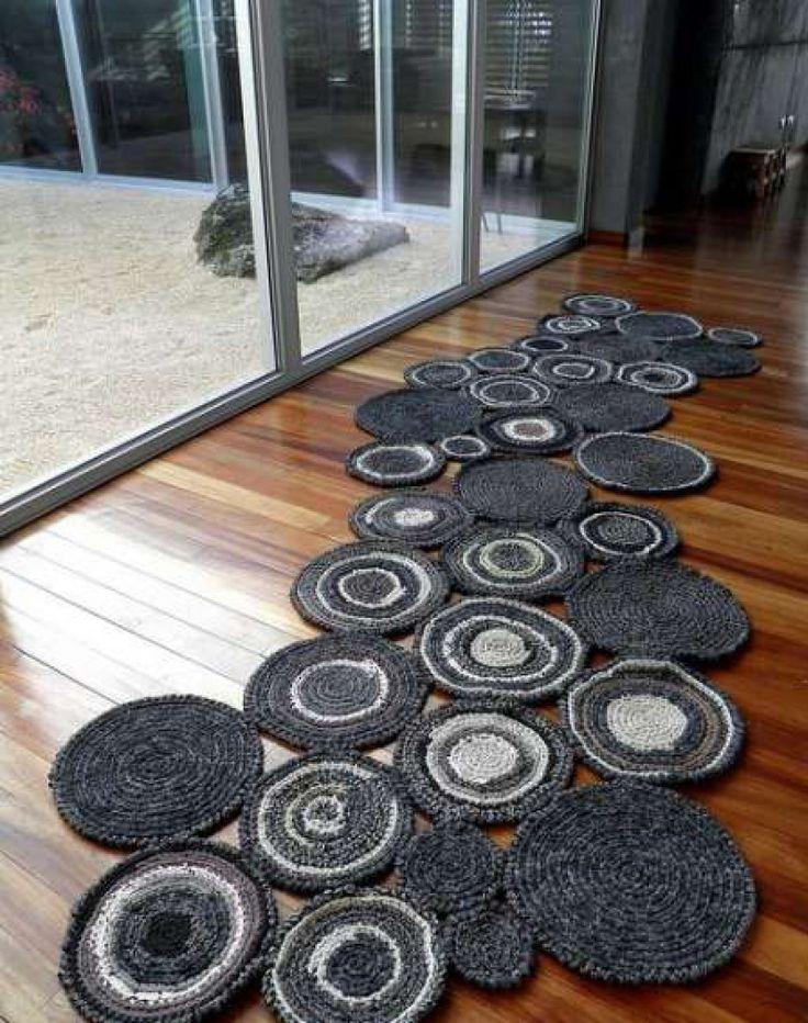 Crochet rug - step by step   Crochet Free