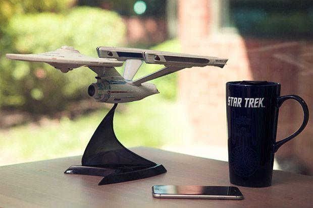 Star Trek VI USS Enterprise Model Lights up and Makes Sounds - available on ThinkGeek $64.99