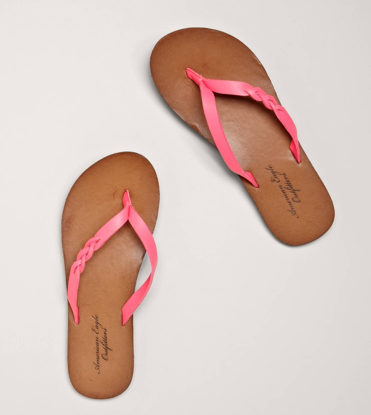 Pink leather flip flops outlet pre order QImdEIY