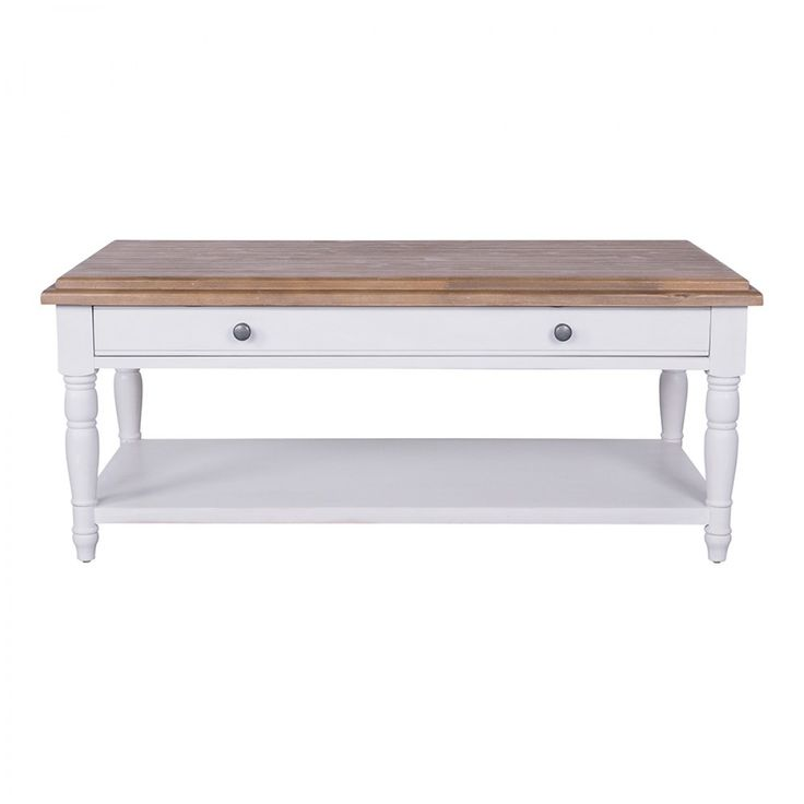 Willow 1 Drawer Coffee Table - Willow Range