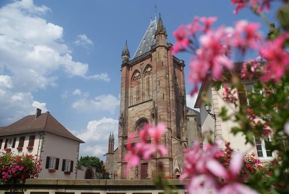 Collégiale Saint-Florent - Niederhaslach