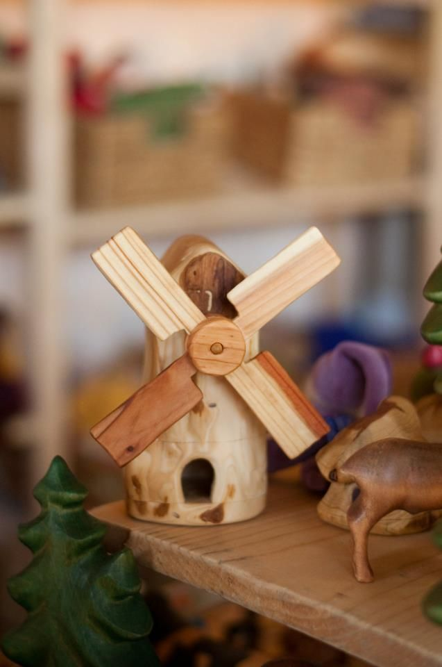 Heartwood Arts was founded in 1981, inspired by the Waldorf Education and the artistic and architectural indications of Rudolf Steiner. Created with the needs of the child in mind, these handmade wooden toys nourish the imitative and imaginative capacities of the unfolding child. They warm the heart and engage the hands in healthy play and are found in homes and schools throughout the world. Their natural finish is composed of beeswax and organic flaxseed oil.