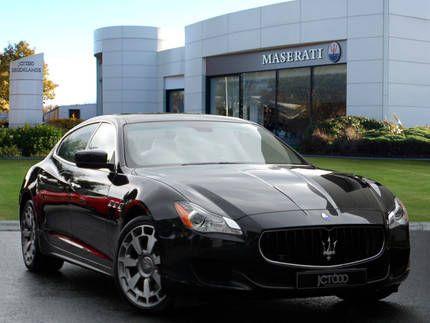 Used 2014 ( reg) Black Maserati Quattroporte TDS V6 for sale on RAC Cars