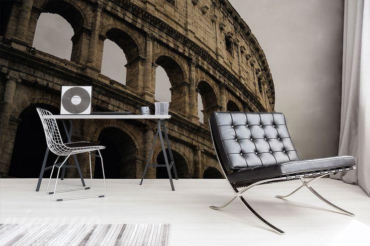 Aranżacja Fototapety Z Koloseum za plecami