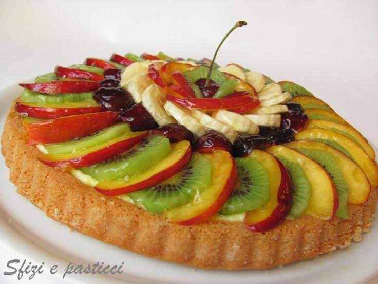 Crostata morbida di frutta