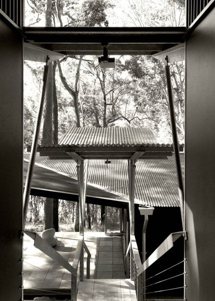 Two pavilions: living and sleeping
