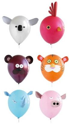 Ballons Animaux surprises chez Bianca and Family