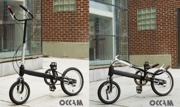"""世界一シンプルな折り畳み自転車「Occam Cycle」 ― その秘密は""""立ち漕ぎ"""" - えん乗り"""