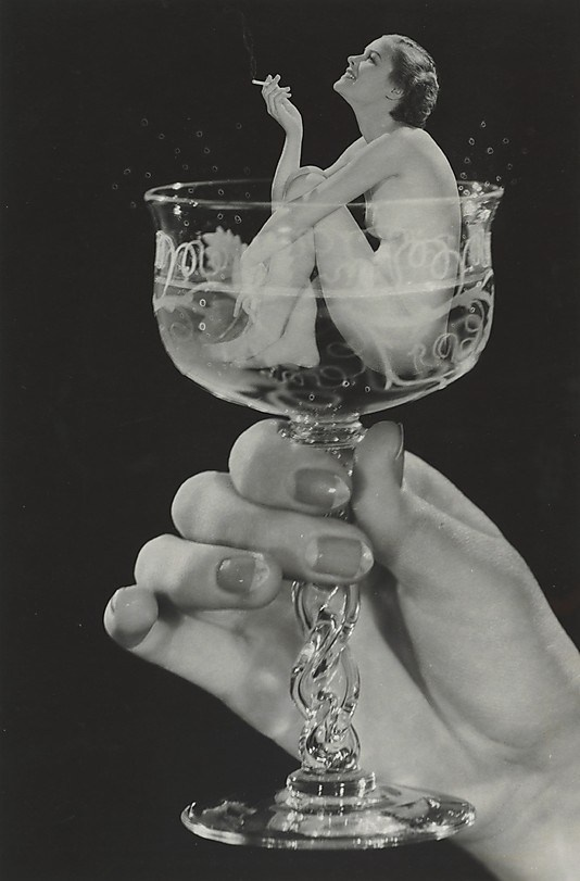 Image result for vintage woman swimming large champagne glass party gif