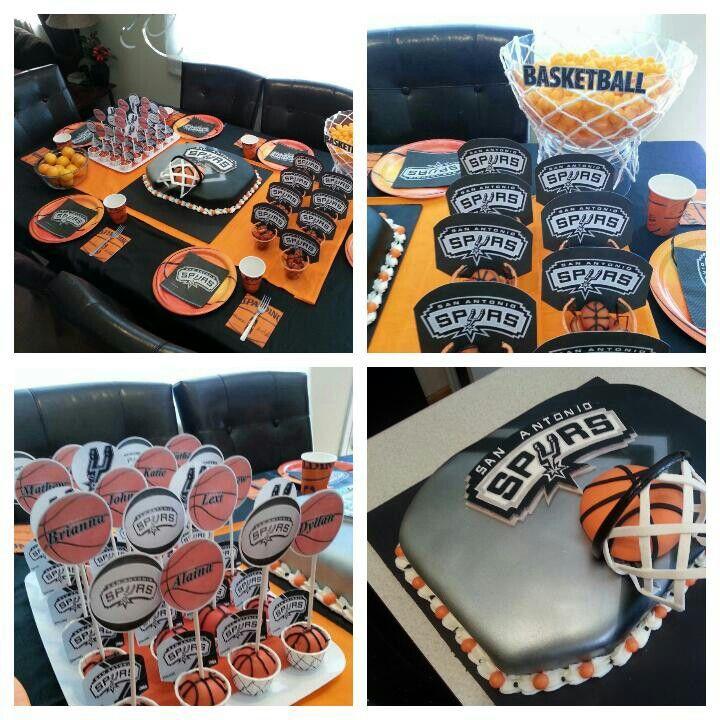 San Antonio Spurs Basketball Birthday Party