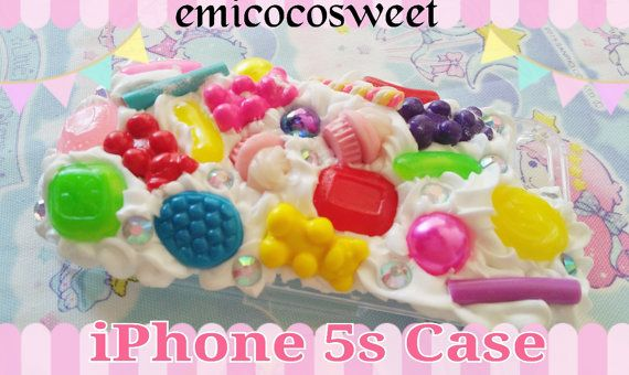Decoden iPhone5s CaseKawaii Phone CaseCandy Gummy by emicocosweet