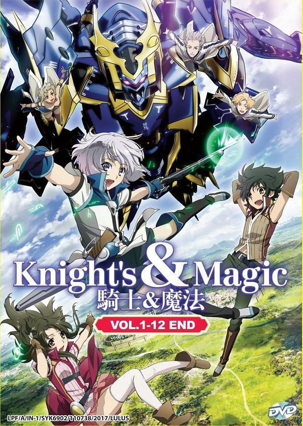 Details About Dvd Anime Knight S And Magic Complete Series 1 12