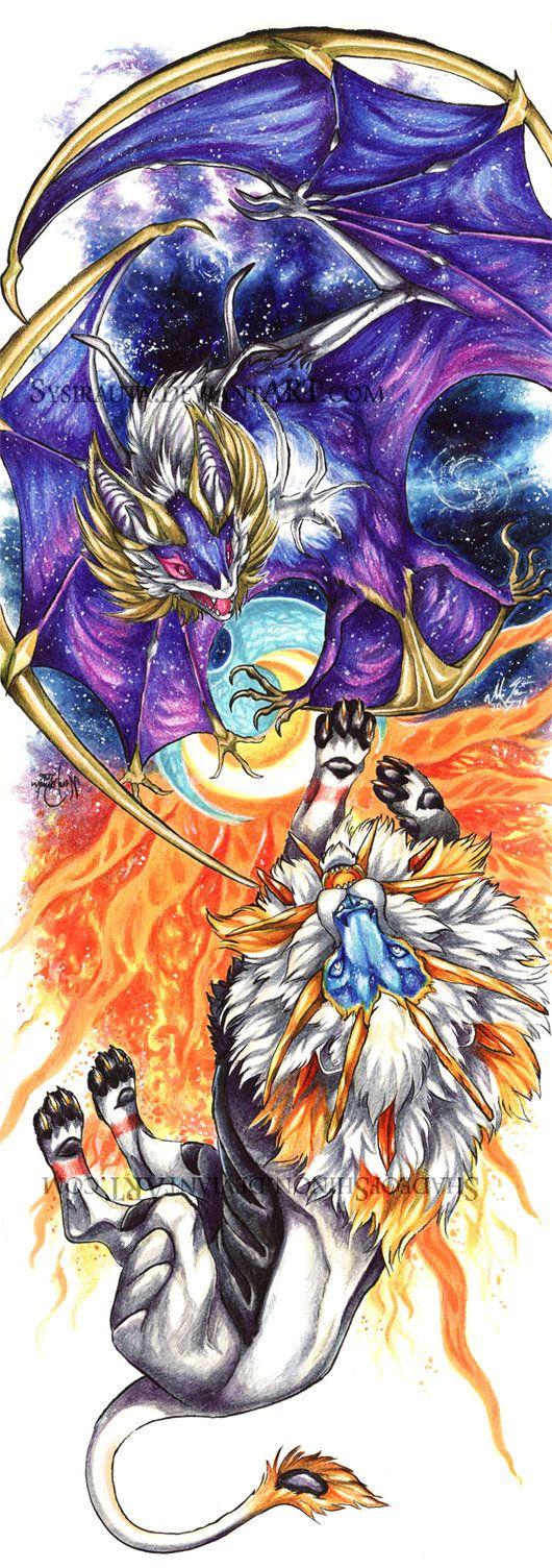 Duality II: Moon and Sun by Sysirauta