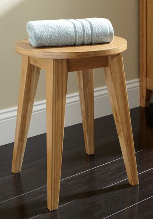 A bamboo bathroom stool shows off a modern yet natural look to make you feel & Best 25+ Bathroom stools ideas on Pinterest | Washroom Fresh ... islam-shia.org
